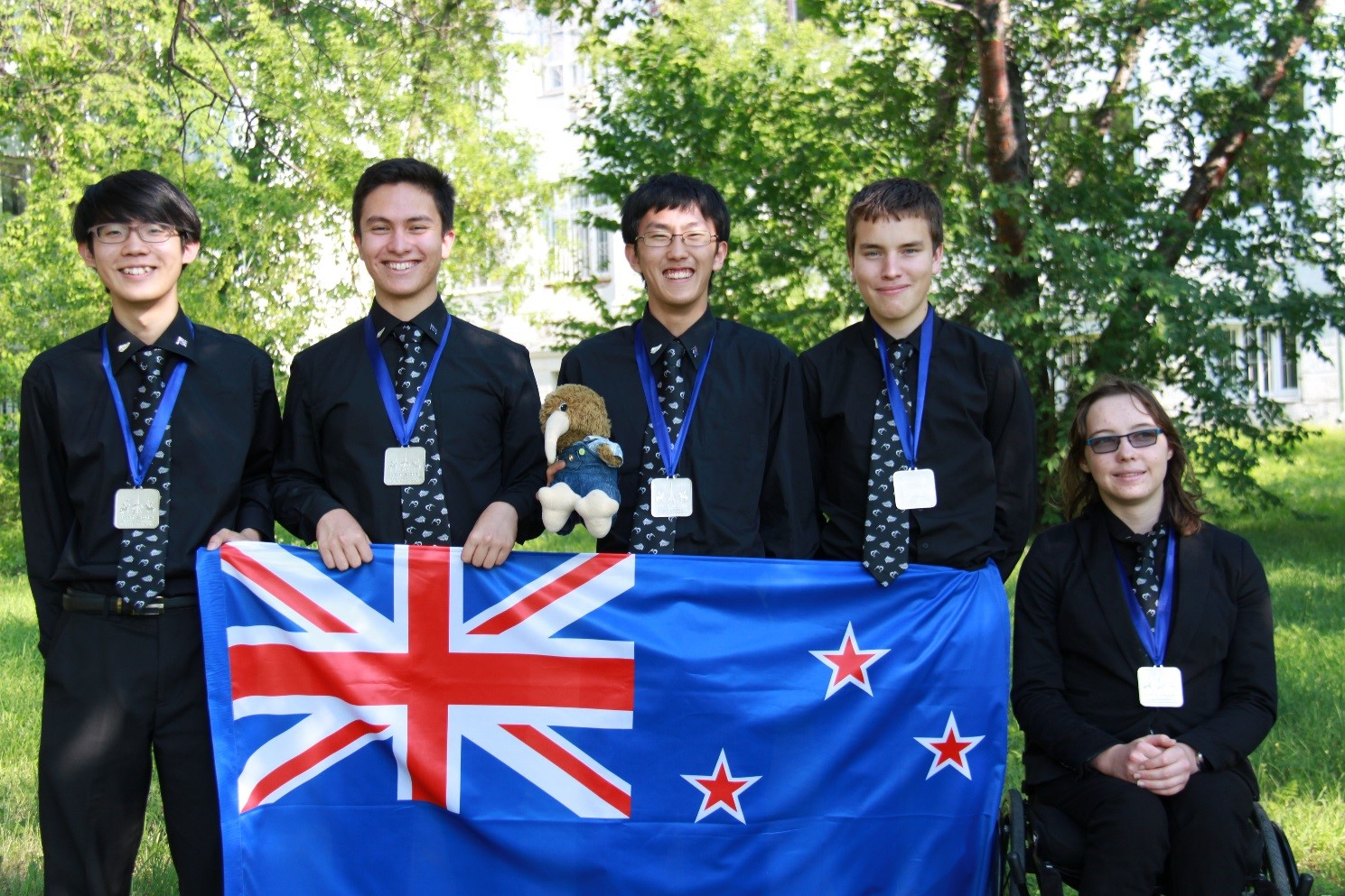 New Zealand Young Physicists' Team 2016