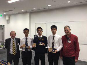 3rd Place - Auckland Grammar School